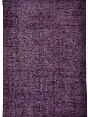 Trendy en vintage kwaliteit karpet Adana in de kleur paars en zwart. Onze vloerkledenspecialisten: Tilburg Didam Leiden Wolvega