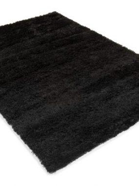 Uni of effen zwart kleurig hoogpolig frisé polyester vloerkleed Amsterdam. In Breda Tilburg Den Haag Eindhoven Voorschoten