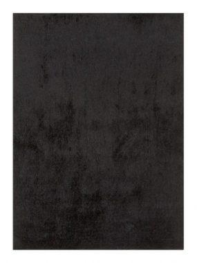 Uni of effen zwart kleurig hoogpolig frisé polyester tapijt Amsterdam. In Oldenzaal Tilburg Arnhem Didam Heerenveen