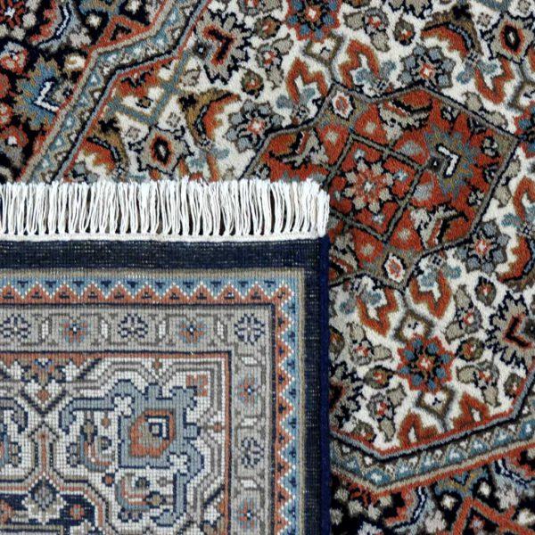 Bidjar-blauw-creme-(82667)-achterkant