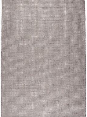 Trendy en modern betaalbaar karpet Cabel. Wit en zalm katoen. Perez winkels: Tilburg Den Bosch Eindhoven en Breda