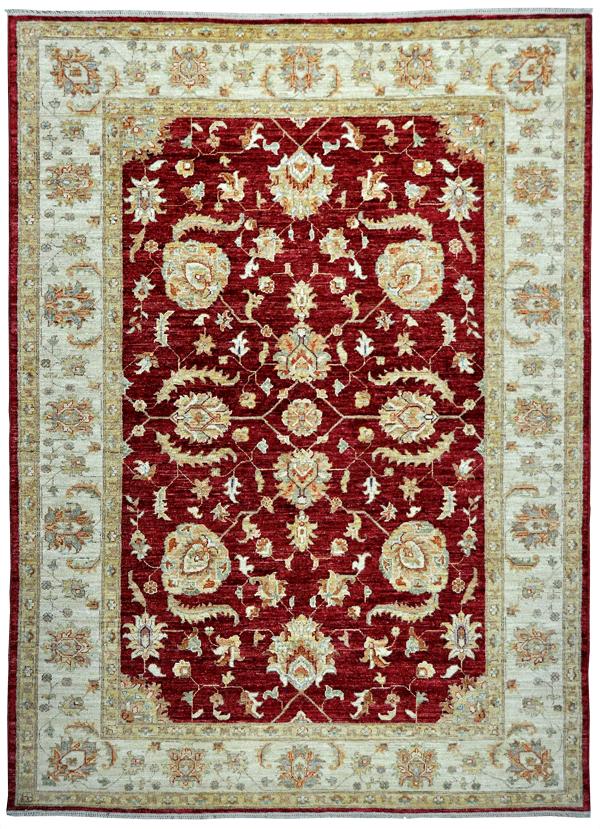 Farahan-rood-beige-(79692)-bovenkant