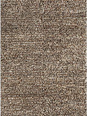 Dik zacht en hoogpolig design karpet Helsinki in kleuren bruin wit en zwart en wit. Is te koop in Tilburg Didam Voorschoten Arnhem en Zoetermeer