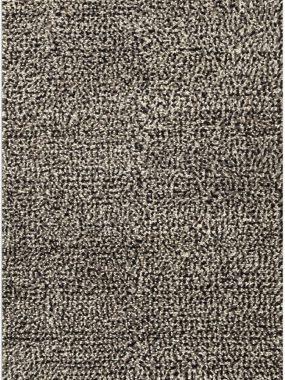 Dik zacht en hoogpolig design tapijt Helsinki in kleuren zwart grijs en wit. Is te koop in Tilburg Didam Eindhoven Voorschoten en Arnhem