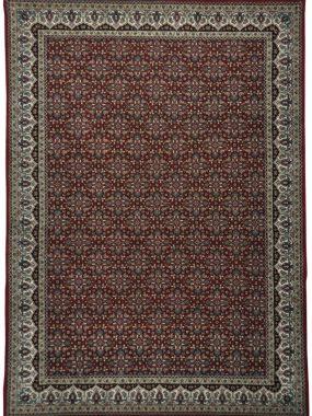 Klassiek wollen Oosters hand gemaakt tapijt Herati 5 in rood en beige. In Tilburg Voorschoten Didam Oldenzaal en Enschede te koop.
