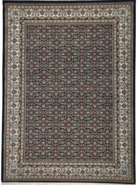 Met de handgeknoopt klassiek Oosters tapijt Herati (6) in kleur blauw rood en creme. Winkels: Tilburg Doetinchem Voorschoten en Oldenzaal