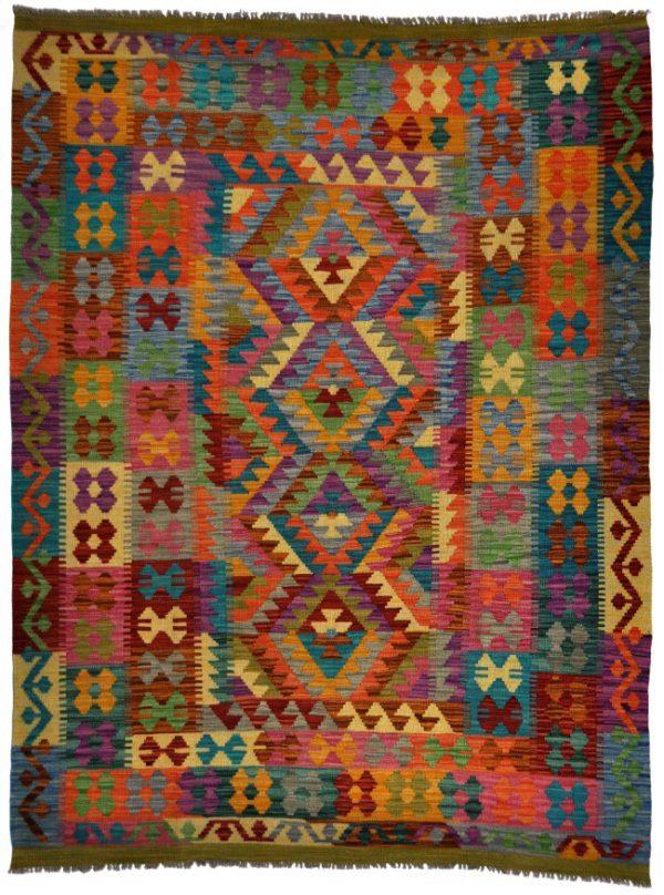 Kelim-Khyber-78014-bovenkant