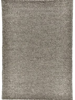 Zacht en grijs tapijt Lorenzo met grof wollen plat geweven constructie. Te koop in: Eindhoven Tilburg Den Bosch en Leiden