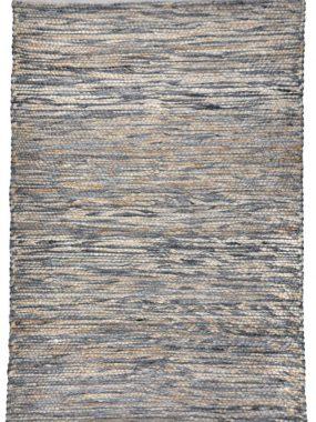 Zacht wollen plat geweven vloerkleed Milos met grove hoge structuur. In kleuren grijs beige en wit. Te koop: Tilburg Leiden Doetinchem en Heerenveen