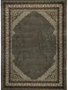 Uniek handgemaakt karpet Mir Corner 3 in grijs en beige. Toepasbaar in elk interieur. Te koop in Zoetermeer Tilburg en Arnhem