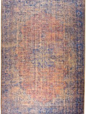 Zeer betaalbaar stoer vloerkleden met keuren rood blauw en groen uit stijlgroep Vintage & Patch. Te koop in: Breda Tilburg Eindhoven Den Bosch