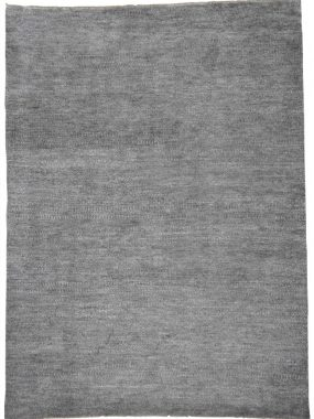 Uni of effen grijs handgemaakt wollen vloerkleed Nomad Eco. Verkrijgbaar in maatwerk. Bezoek onze winkels: Voorschoten en Tilburg