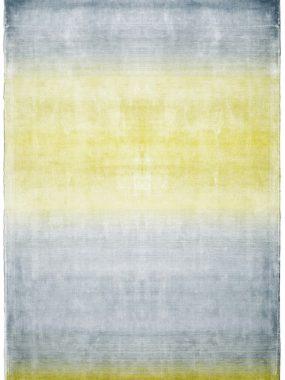 Zeer betaalbare polyester vintage vloerkleden Riga met kleurverloop van geel naar blauw. onze winkels: Tilburg Arnhem Den Bosch en Doetinchem
