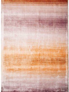 Zeer betaalbare polyester Riga tapijten met kleurverloop van rood naar oranje. Showrooms: Tilburg Den Bosch Breda en Hoogeveen