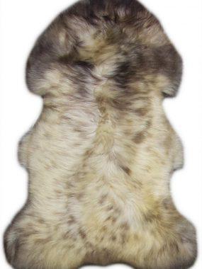 wit bruine schapenvacht
