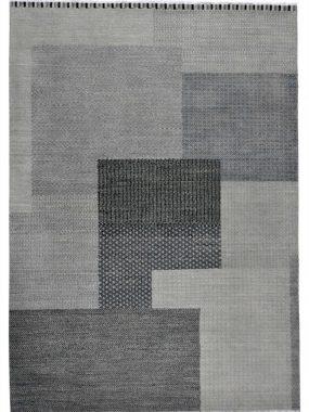 Handgeknoopt blauw tapijt Shalimar Bretty voor modern interieur. De winkels: Breda Enschede Oldenzaal en Voorschoten