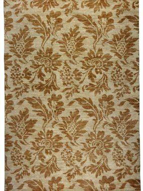 Beige bruin tapijt Shalimar Callco met bloemendessin. Geschikt voor modern interieur. Te koop in Arnhem Tilburg en Oldenzaal