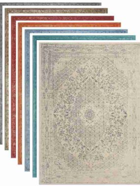 vintage vloerkleed Tabriz. Diverse kleuren en maten