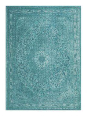Trendy aqua groen karpetten met vintage medaillon dessin. Met korte levertijd verkrijgbaar in: Hoogeveen Tilburg Breda en Doetinchem