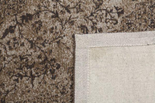 Tabriz-bruin-achterkant-detail