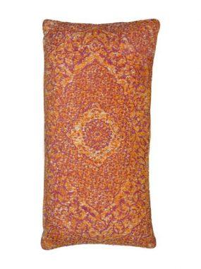 Vintage kussen tabriz oranje