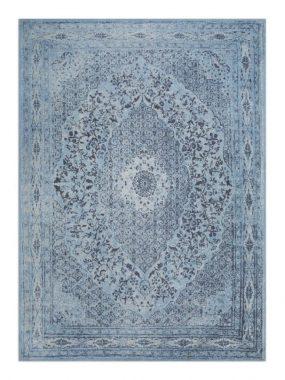 Tabriz vloerkleed in kleur blauw