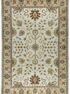 Handgeknoopt Ziegler Vase tapijt wat uit eigen voorraad leverbaar is. Perez vloerkleden