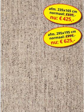 Aanbieding sale -goedkoop effen vloerkleed- Lisbon beige. Leverbaar in diverse kleuren en maten, verkrijgbaar bij Perez vloerkleden.