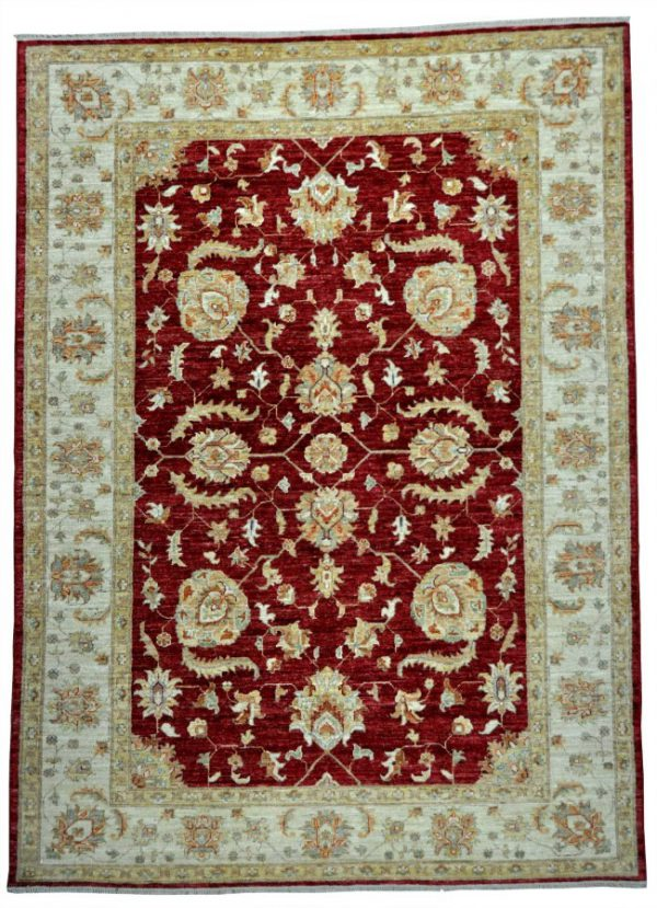 ziegler-Farahan-rood-beige-79692-bovenkant