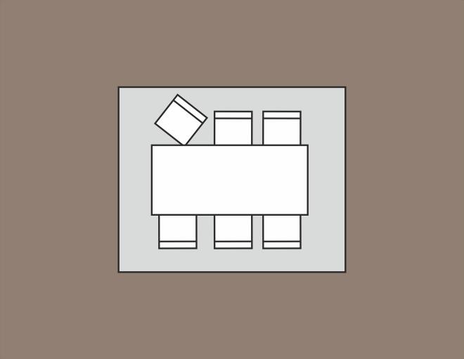 maat vloerkleed: 300 x 250 cm