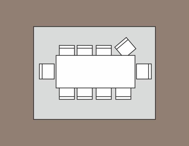 maat vloerkleed: 400 x 300 cm