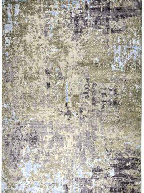 vloerkleed Nature Cosmos bege grijs is handgeknoopt in India en verkrijgbaar bij Perez vloerkleden.