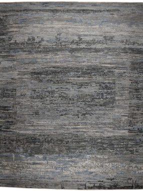 vloerkleed grijs