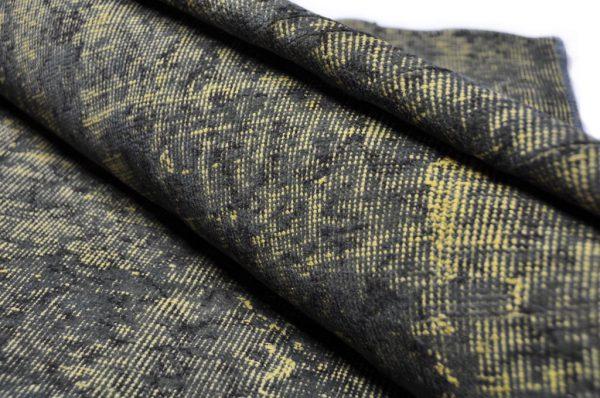 Vloerkleed Adana geel zwart rol