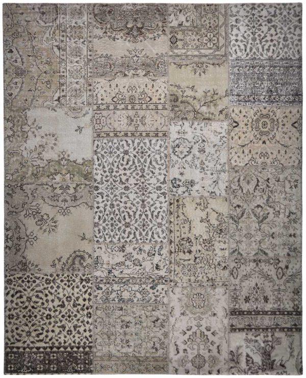 Vintage vloerkleed Patch 01-011 bovenkant