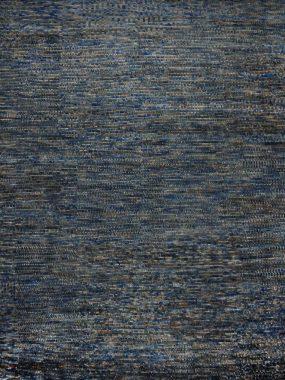 vloerkleed Umbra Fields olive blauw