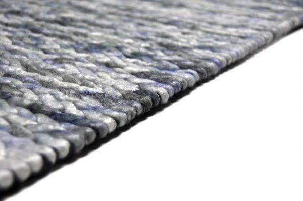 Karpet Biron blauw zijkant