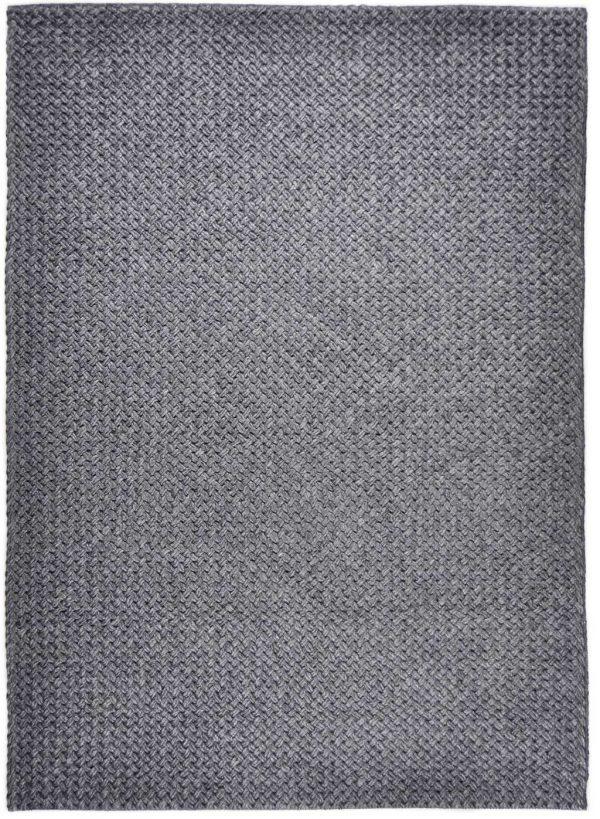Vloerkleed Brianca donker grijs