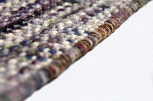 Karpet Eden paars detail zijkant