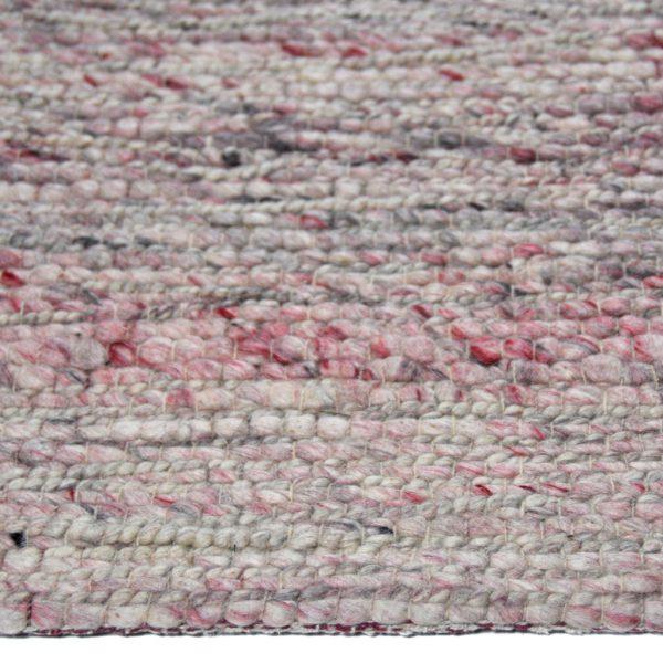 Karpet Navassa naturel roze zijkant