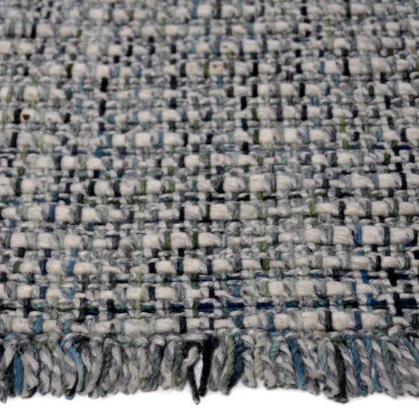 Karpet Trion groen grijs zijkant