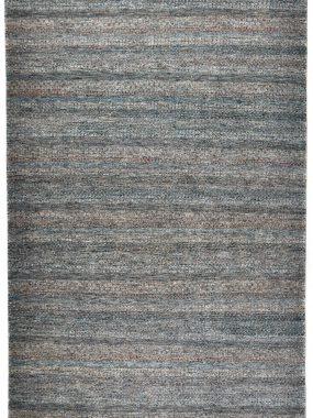 Handgeknoopt vloerkleed of tapijt Monza groen grijs is verkrijgbaar bij Perez vloerkleden