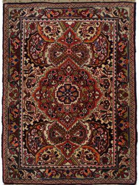 Djozan antiek tapijt verkrijgbaar bij Perez vloerkleden
