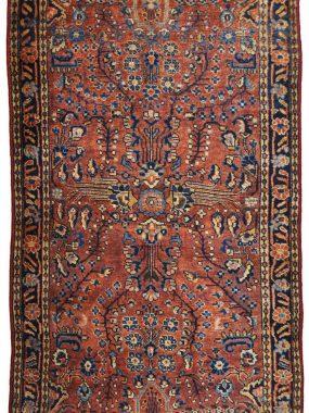 antiek Sarouck tapijt