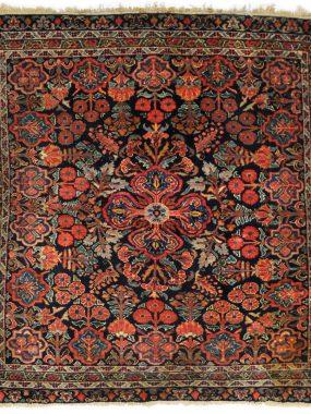Antiek Perzische Sarouck tapijt verkrijgbaar bij Perez vloerkleden
