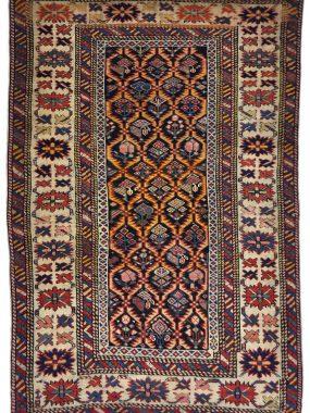 zeldzaam antiek Shirvan tapijt is exclusief bij Perez vloerkleden leverbaar