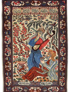 Zeldzame sarouck tapijt