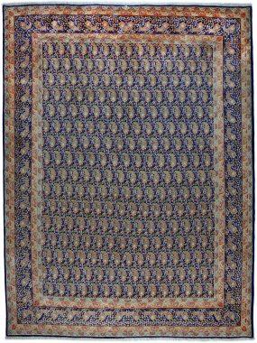 antiek tapijt Yazd is verkrijgbaar bij Perez vloerkleden in Tilburg