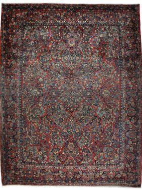 antiek Perzisch sarouck vloerkleed is verkrijgbaar bij Perez vloerkleden in Tilburg