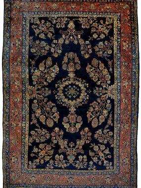 Zeldzaam Perzisch antiek Sarouk tapijt is verkrijgbaar bij Perez vloerkleden in Tilburg